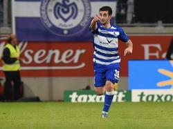 Giorgi Chanturia erzielte gegen den SC Paderborn das goldene Tor