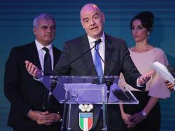 Die Pläne von FIFA-Präsident Gianni Infantino sind offenbar geplatzt