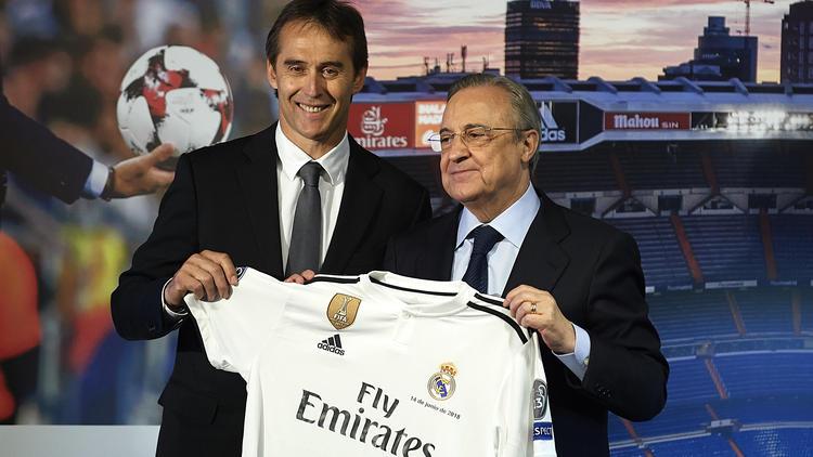 Was plant der neue Trainer Lopetegui (l.) bei Real Madrid?