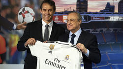 Was plant der neue Trainer Lopetegui (l.) bei Real Madrid?