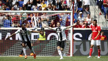 Juventus Turin setzte sich gegen SL Benfica durch