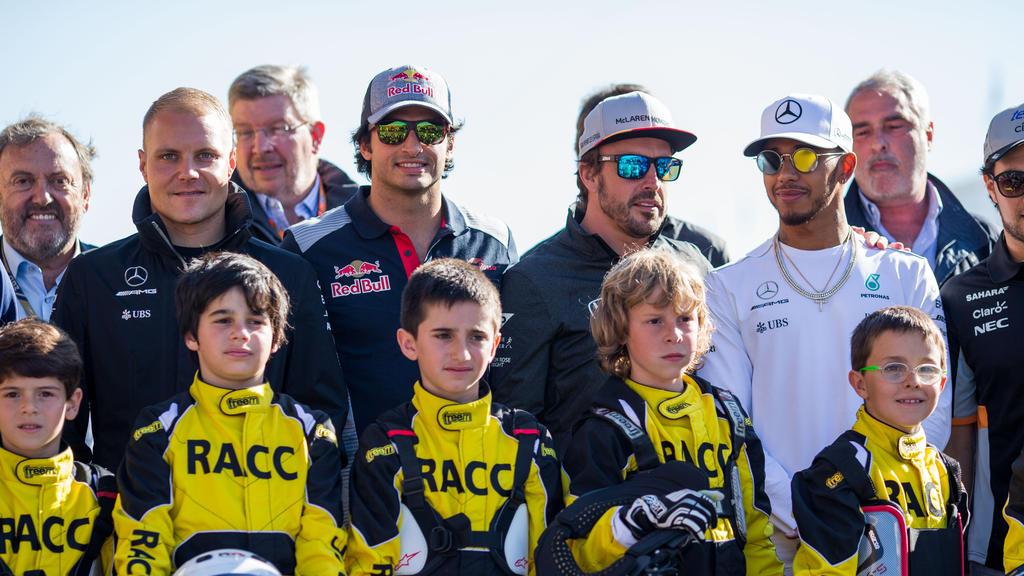 Einige Formel-1-Piloten würden sich auf ein Showrennen in Einheitsautos freuen