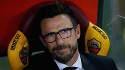 Eusebio Di Francesco hat sich eine Fraktur an der linken Hand zugezogen