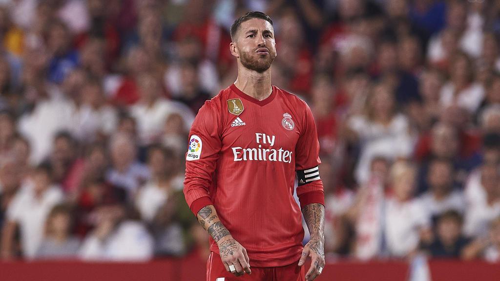 Real-Kapitän Sergio Ramos steht noch hinter seinem Trainer