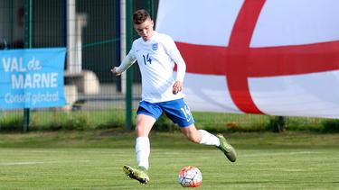 Matt O'Riley spielte auch schon in der U-18 Englands