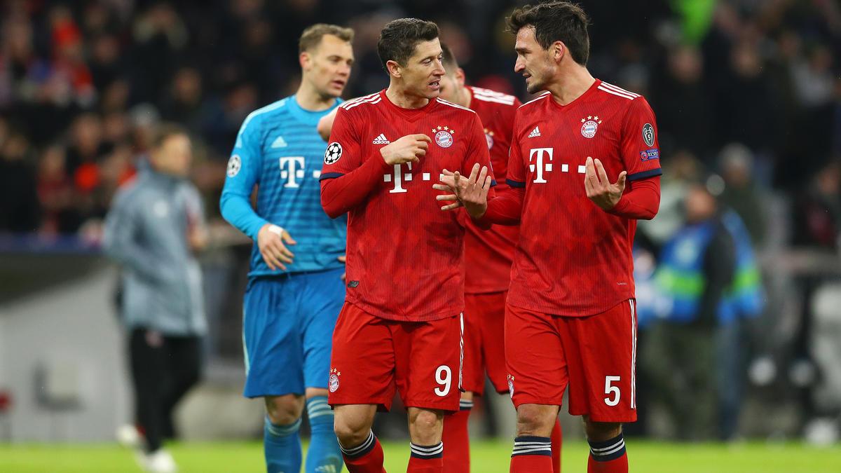 FC Bayern Das Champions League Zeugnis Der Stars J U00e9r U00f4me