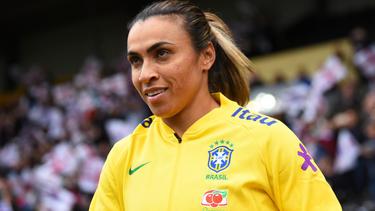 Marta es la superestrella de la selección carioca.