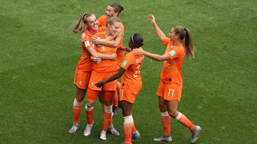 Die Niederländerinnen sind bei der WM auf Achtelfinal-Kurs