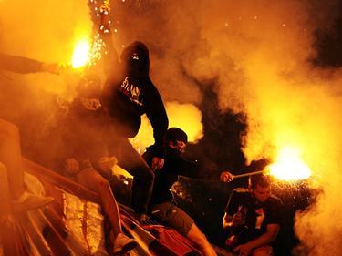 Immer wieder fallen russische Fans negativ auf