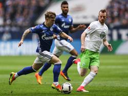 Schalkes Max Meyer zeigte gegen Wolfsburg eine ganz starke Leistung
