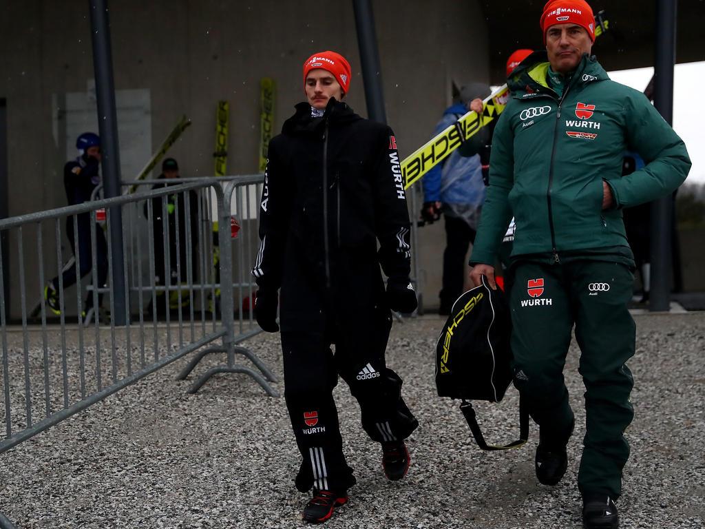 Hofft nach seinem Sturz in Innsbruck auf ein baldiges Comeback: Skispringer Richard Freitag