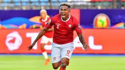Lalaina Nomenjanahary erzielte das 1:0 gegen Nigeria