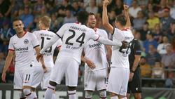Eintracht Frankfurt kann mit den Playoffs für die Europa League planen