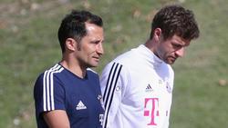 Thomas Müller (re.) hat sich zu seiner Lage beim FC Bayern geäußert