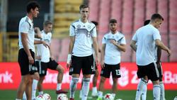 Die deutsche U21-Nationalmannschaft spielt vor ausverkauftem Haus