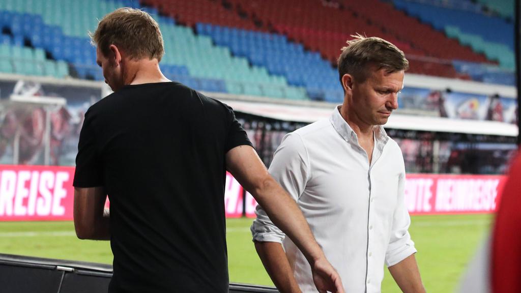 Jesse Marsch gerät bei RB Leipzig in die Kritik