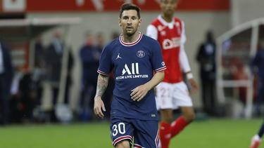 Lionel Messi lässt die heimischen PSG-Fans warten