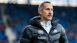 Für Adi Hütter hat RB Leipzig durchaus Chancen auf den Meistertitel
