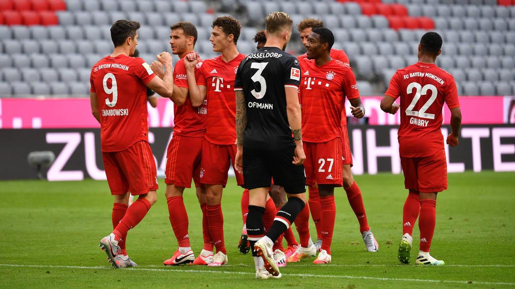 Lockerer Heimsieg für den FC Bayern