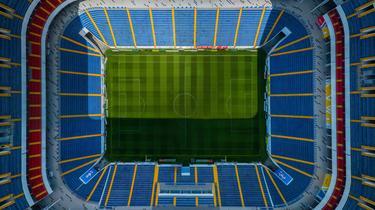 Vista aérea del Rostov Arena de Rusia.