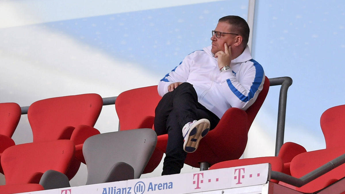 Schlägt einen Notfall-Fonds für die Bundesliga vor, um zukünftig für unvorhergesehene Krisen gewappnet zu sein: Gladbachs Manager Max Eberl. Foto: Stefan Puchner/dpa