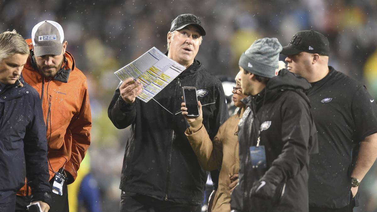 Doug Pederson ist seit Januar 2016 Cheftrainer der Eagles