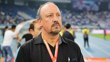 Total frustriert: Rafa Benitez