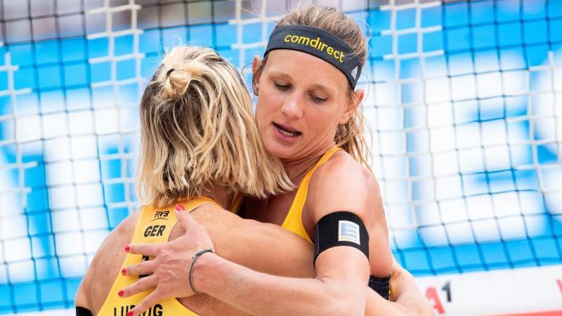 Laura Ludwig und Margareta Kozuch bereiten sich auf Olympia vor