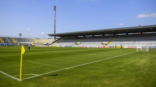 Im Stadion an der Grünwalder Straße sind keine Zuschauer zugelassen