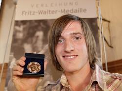 Silberne Fritz-Walter-Medaille 2008 für Rudy