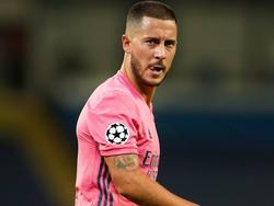 Hazard no consigue la continuidad deseada en el Madrid.