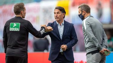 Schiri-Frust bei Hertha BSC am 5. Bundesliga-Spieltag