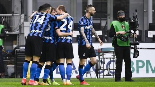 Inter Mailand siegte im Stadtderby deutlich