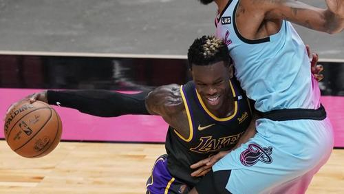 NBA-Star Dennis Schröder verlor mit den Los Angeles Lakers