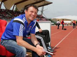 Unterhachings Trainer Claus Schromm hofft im DFB-Pokal gegen Leverkusen auf eine große Überraschung