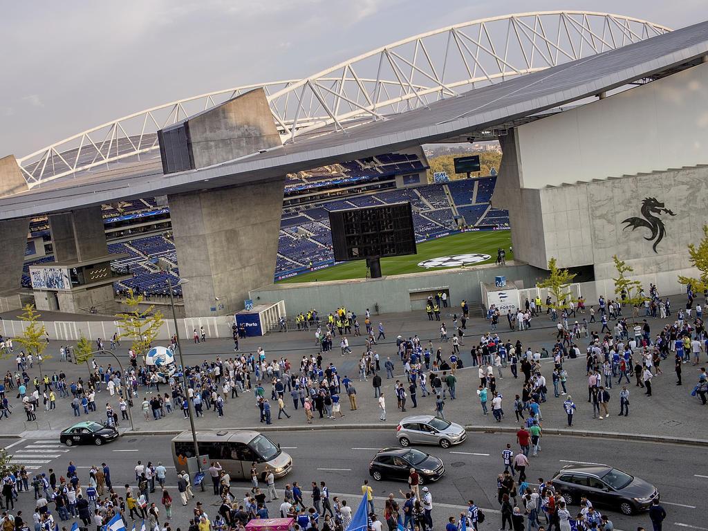 Das Stadion des FC Porto bietet 52.000 Zuschauern Platz