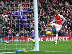 Ausgleich für Arsenal!