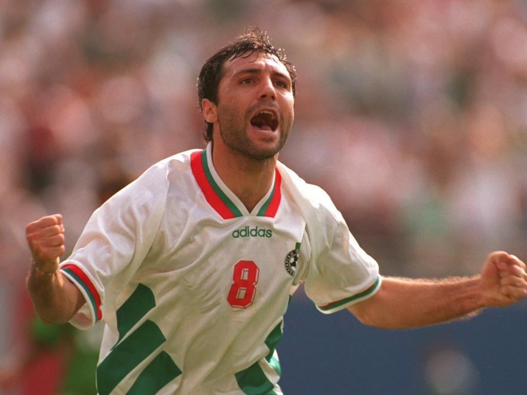 "Resultado de imagen para hristo stoichkov bulgaria 1994"""