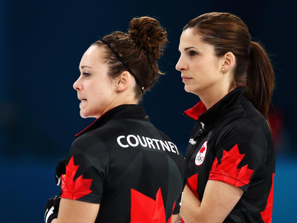 Die kanadischen Damen sind in Pyeongchang vorzeitig gescheitert