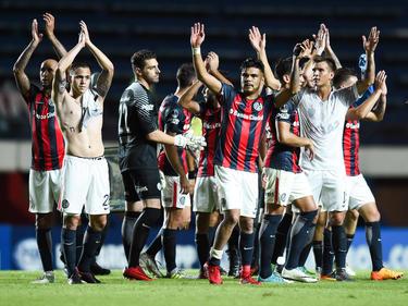 San Lorenzo de Almagro sigue adelante con un gran encuentro en Brasil. (Foto: Getty)