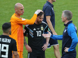 Lionel Messi war bei Argentiniens WM-Auftakt der tragische Held