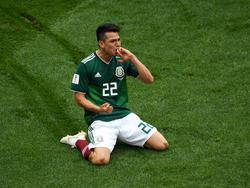 Lozano se convirtió en héroe nacional ante Alemania. (Foto: Getty)
