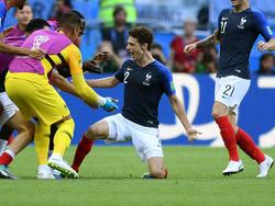 Benjamin Pavard erzielte gegen Argentinien ein Traumtor
