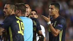 Cristiano Ronaldo kann die Entscheidung von Felix Brych nicht nachvollziehen