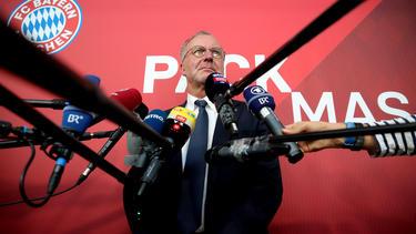 Bayern-Boss Karl-Heinz Rummenigge wollte die Fußball-Familie angeblich zusammenhalten