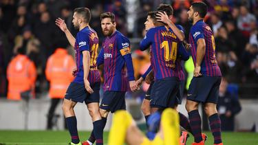 Lionel Messi und der FC Barcelona siegten gegen Leganés