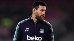Messi es duda para el partido de ida ante el Madrid. (Foto: Getty)