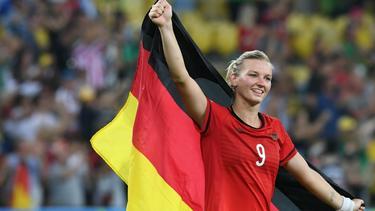 Alexandra Popp ist neue Spielführerin der Nationalelf