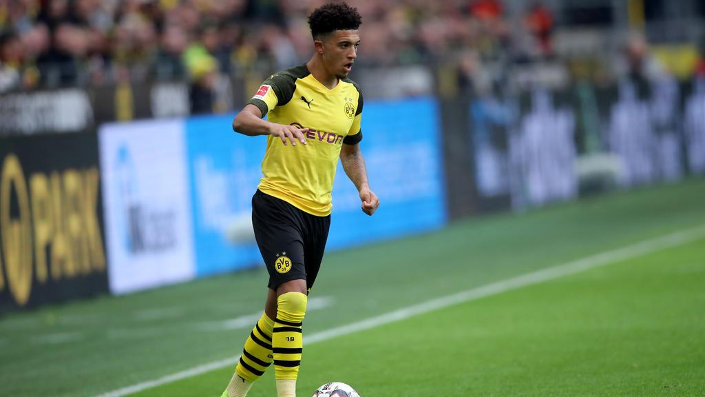 Jadon Sancho spielt seit 2017 beim BVB