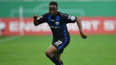 Bernard Tekpetey traf zum zwischenzeitlichen 3:0 für Paderborn